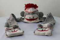 Hat, Scarf and Mitten set