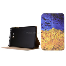 free sample case for Samsung galaxy tab3 lite 7.0 T110 T111 PU tablet case