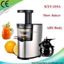 Slow speed low noise best price commercial cold press juicer KXY-J10A