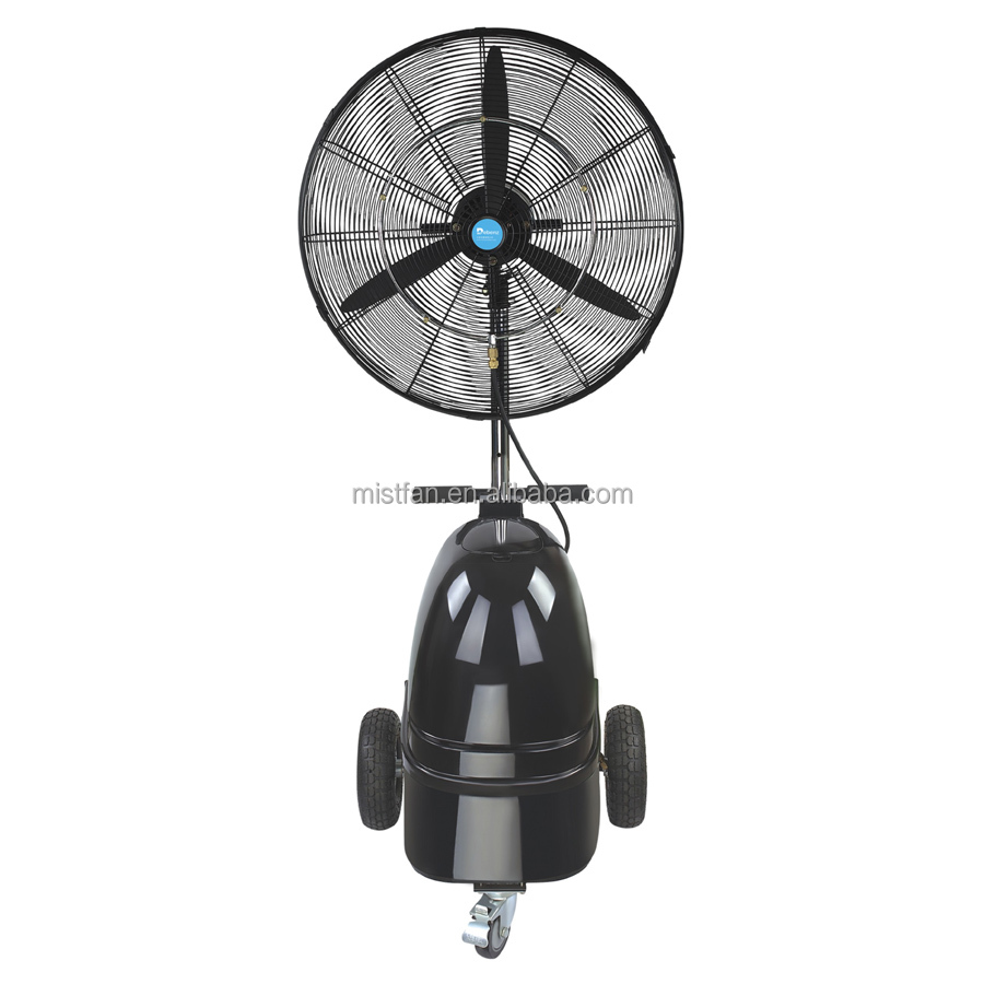 High Pressure Misting : Taizhou industrial fan with high pressure misting system