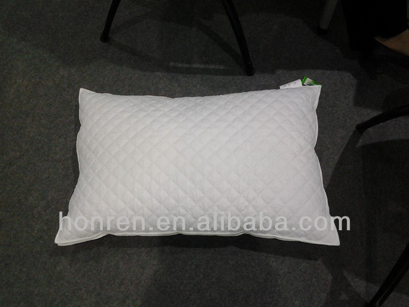 NEW QUILTED MICROFIBER PILLOW 100% DOWN AND FEATHER PILLOW FILLING