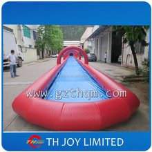50ft long inflatable water slide for adult, giant inflatable slip n slide for adults