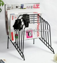 Hot Metal Wire Office Table File Display Rack