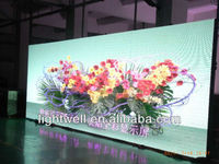 P6 stage rental led curtain advertising screen, hanging indoor rental led display screen