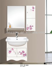 cheap hot sale bathroom pvc cabinet/bathroom vanities/bathroom furniture
