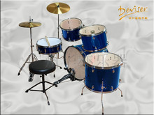 5pcs/7pcs professional oem wood drum set for wholesale(JZG-D22-5)