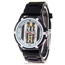 Factory wholesale stylish sport watch Real Madrid fans gift silicone watch