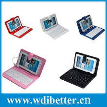 Keyboard Leather Case for 7 inch 8inch 9.7 inch 10inch For Tablet For PC For ipad