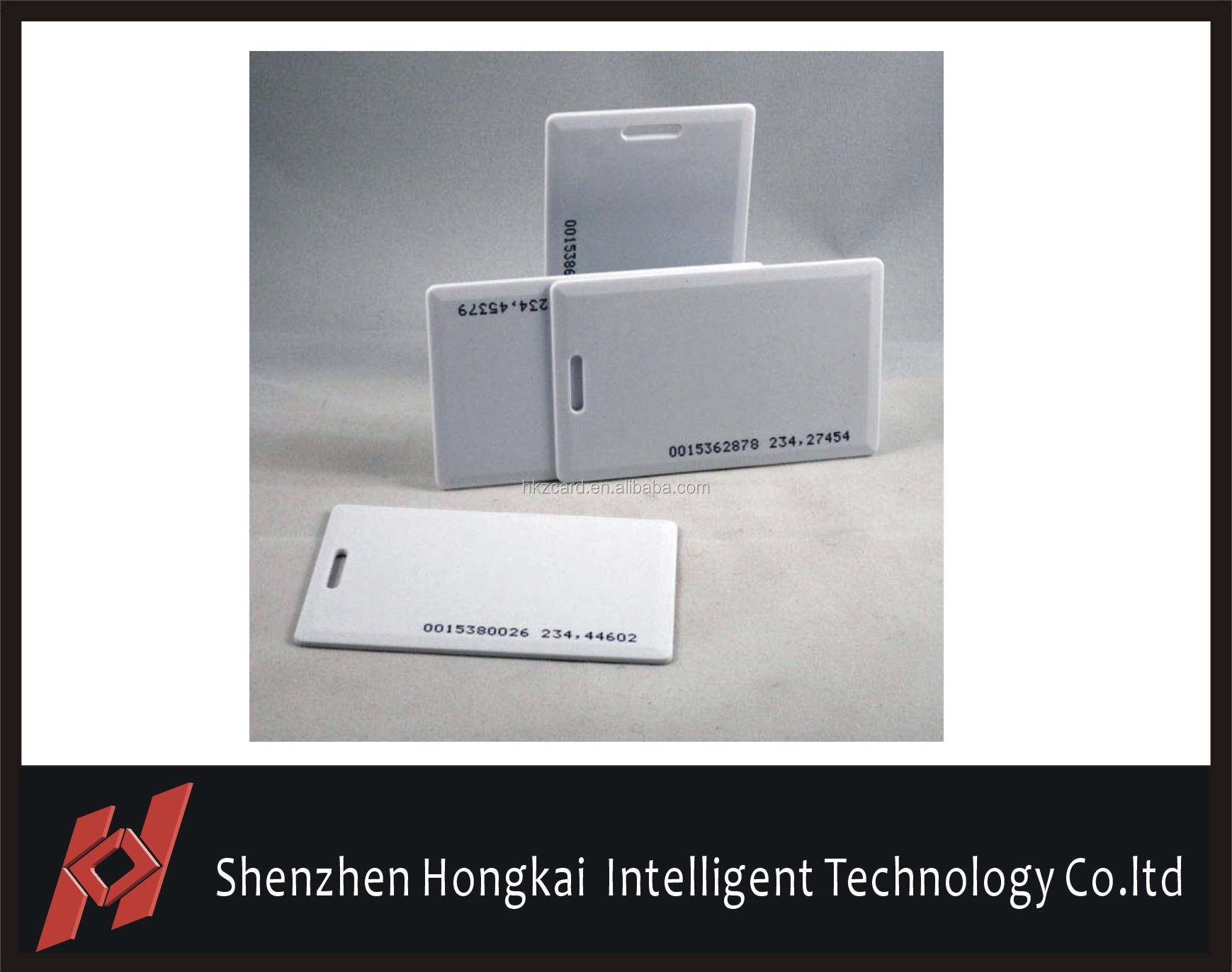 Factory price optional color printing 125khz rfid card with EM4100 chip