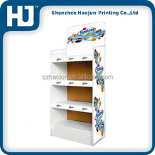 Retail Corrugated Cardboard Advertising Display Stands For Candy/Chocolate/Biscuit,/Cake Snack