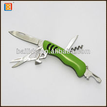 6 In1 Green Matte Baking Multi Pocket Gift Knife