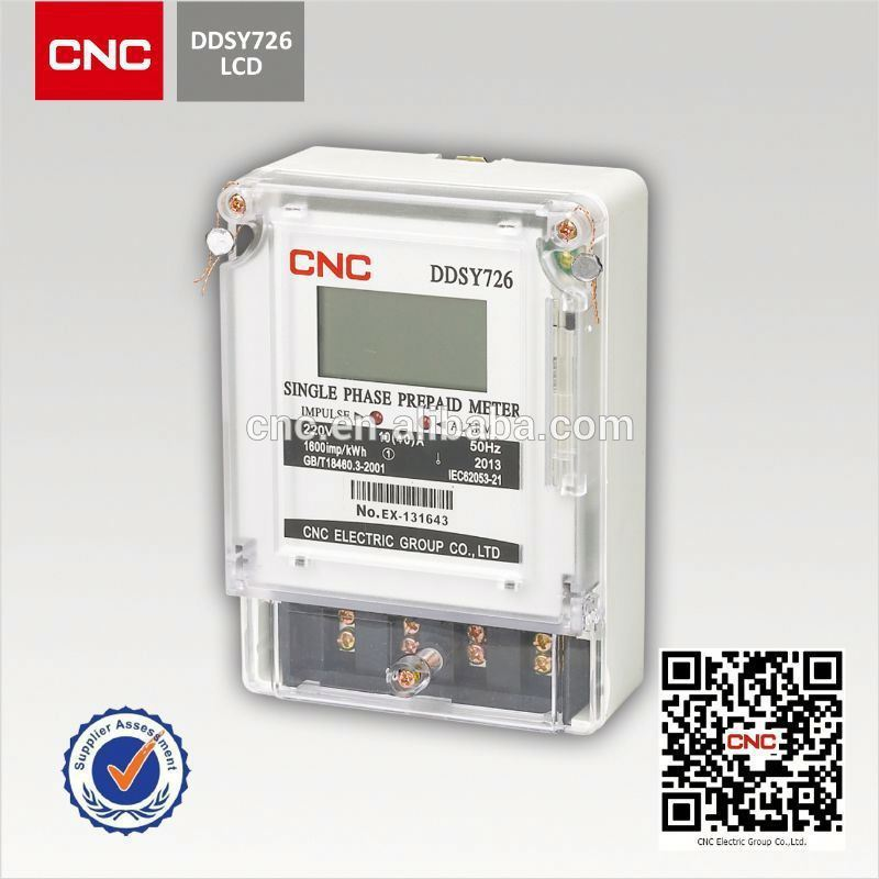 DDSY726 digital electric meter reverse