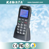 New basic gsm cordless big button cell phone