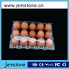Transparent/clear disposable plastic egg tray/packaging with great price
