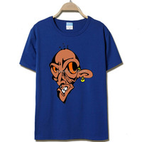 2016 Men's Cotton T-Shirts with Witch Plus Size S-5XL