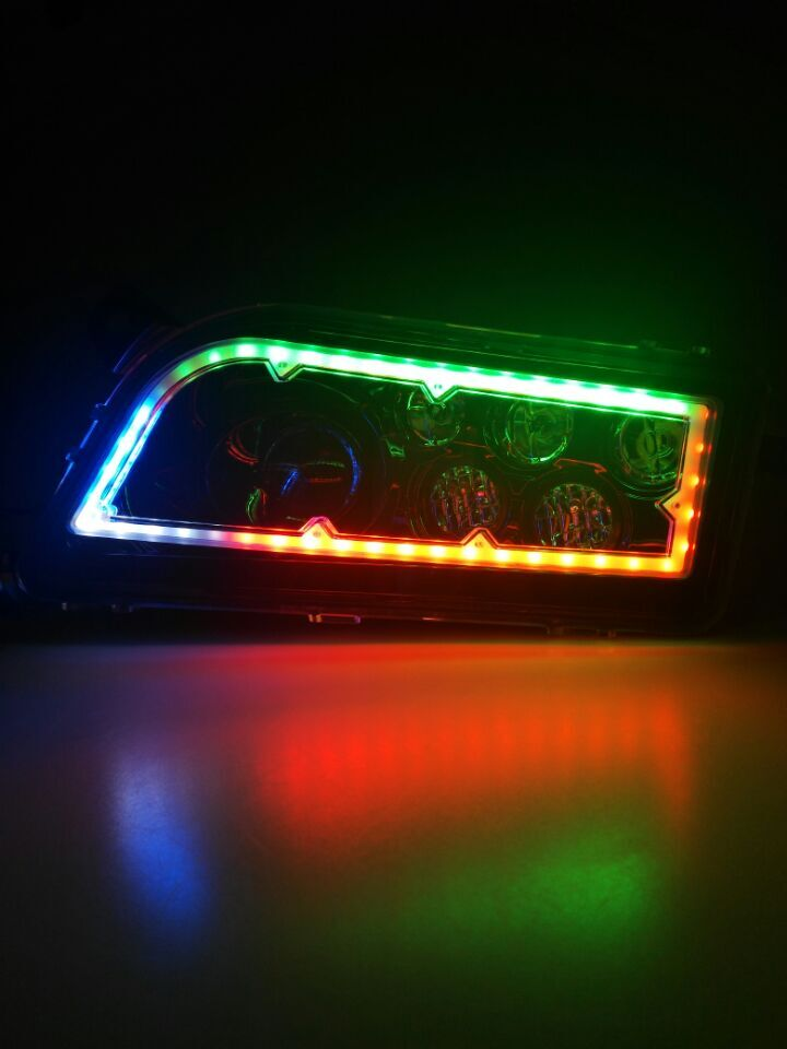 LOYO Unique RGB Color Changing UTV/ATV Headlight