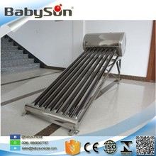 Factory price non pressure compact stainless steel solar water heater pakistanr OEM