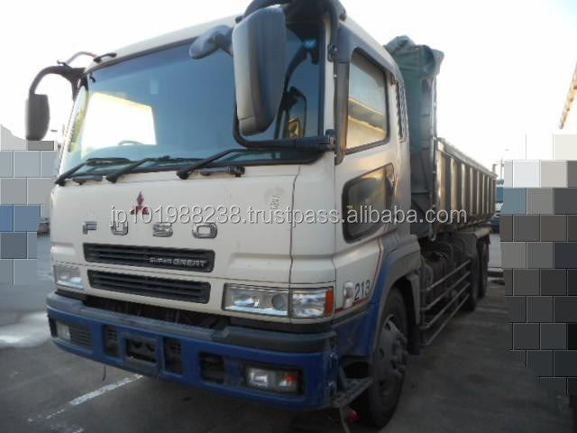 USED TRUCKS - MITSUBISHI FUSO SUPER GREAT DUMP TRUCK (RHD 820030 DIESEL)