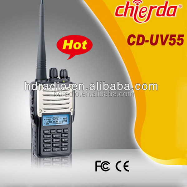 Discount two way radio wide band receiver with abs keypad