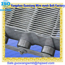 high quality chain link melting iron furnace belt