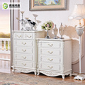 White French Provincial 5 drawer Wooden Chest of Drawers