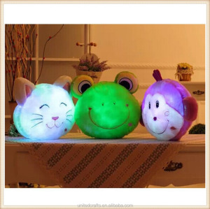 HITOP Creative LED luminous pillow Pussycat Dolls Plush pillow gifts Ragdoll home accessories and decoration pillow...