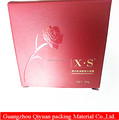 Hot sale new fancy custom logo printing make up cosmetic beauty box