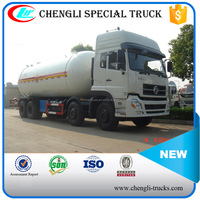Dongfeng DFL1311 8*4 34m3 LPG Propane Tank For Sale LPG Gas Tank Truck