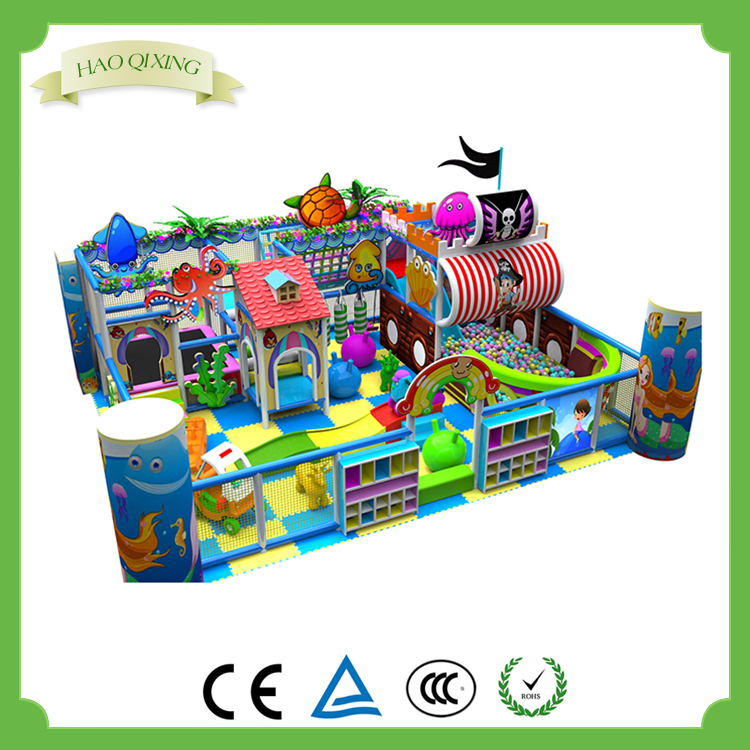 Children 's favorite playground equipment , Pirate Ship Indoor Playground