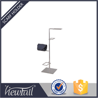 Multi-functional metal Hook man tie metal tie clothes shopping mall rack display for fashion Malls