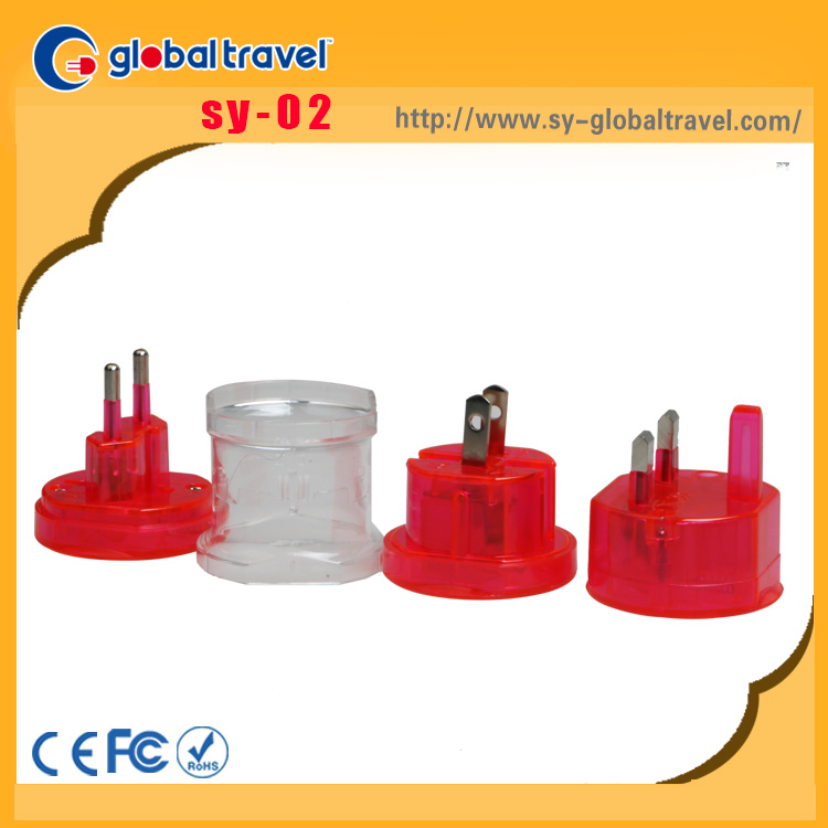 Hot Promotional International Electric power mini plug adapter