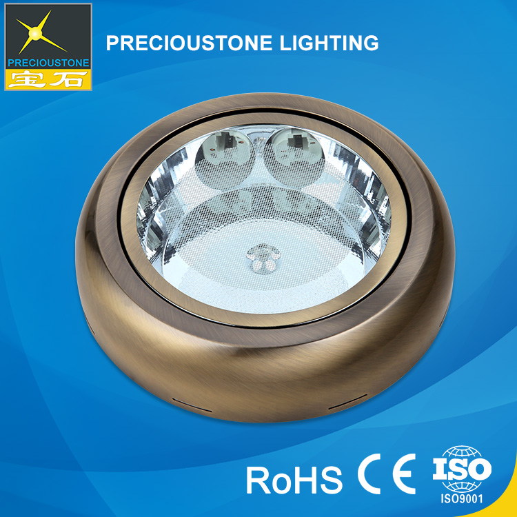 Family Lighting Silver Luxury Ceiling Light Cover E27/G24 26W