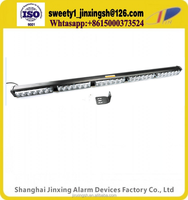 12v 24v 6 moulds single row single yellow red blue led light bar