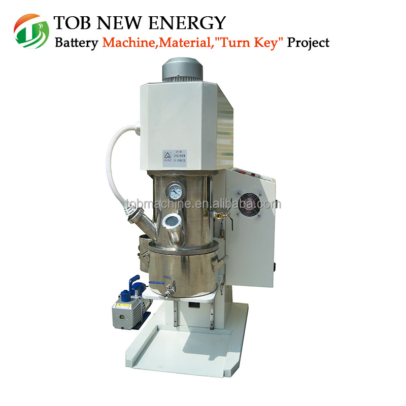 Vacuum Mixing Machine Planetary Mixer With Transmission Frequency Adjustment Function