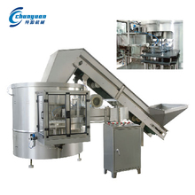 Highly cost effective automatic bottle unscrambler machine