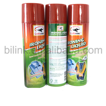 home ironing clothes spray fabric starch