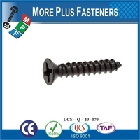 Made in Taiwan Not China Products Carbon Steel Brass Stainless Steel Metal Flat Head Phil Drive Wood Screws Wood Bolts