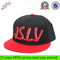 Short Brim 6 Panel 3d Embroidery Wholesale Custom Snapback Hat