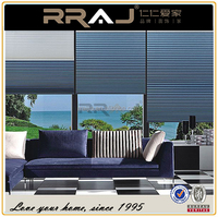 RRAJ Motorized Room Darkening Cordless Cellular Blinds and Shades