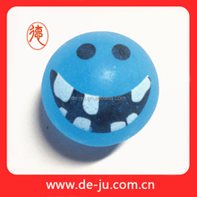 Broad Smile Printing Silicone Rubber Ball For Dog
