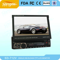 Hot Sale Detachable Car Radio Player With sd Car Media Player SD-712V