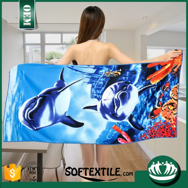 2016 china supplier hot sales women sex with animal photos towel
