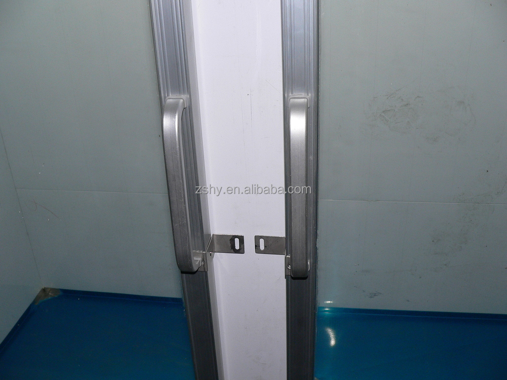 ice storage freezer with glass door
