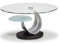 3-19mm Tempered Glass Round Table