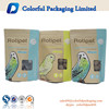 2016 hot sale stand up paper dry fruit bags 250g kraft paper bag kraft bag with window