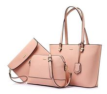 Woman Tote Satchel Hobo 3pcs Purse Set Handbags