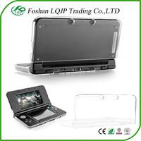Clear Crystal Hard Plastic Protective Shell Case Cover for N3ds New 2015 for Nintendo new 3DS Clear Protective Case