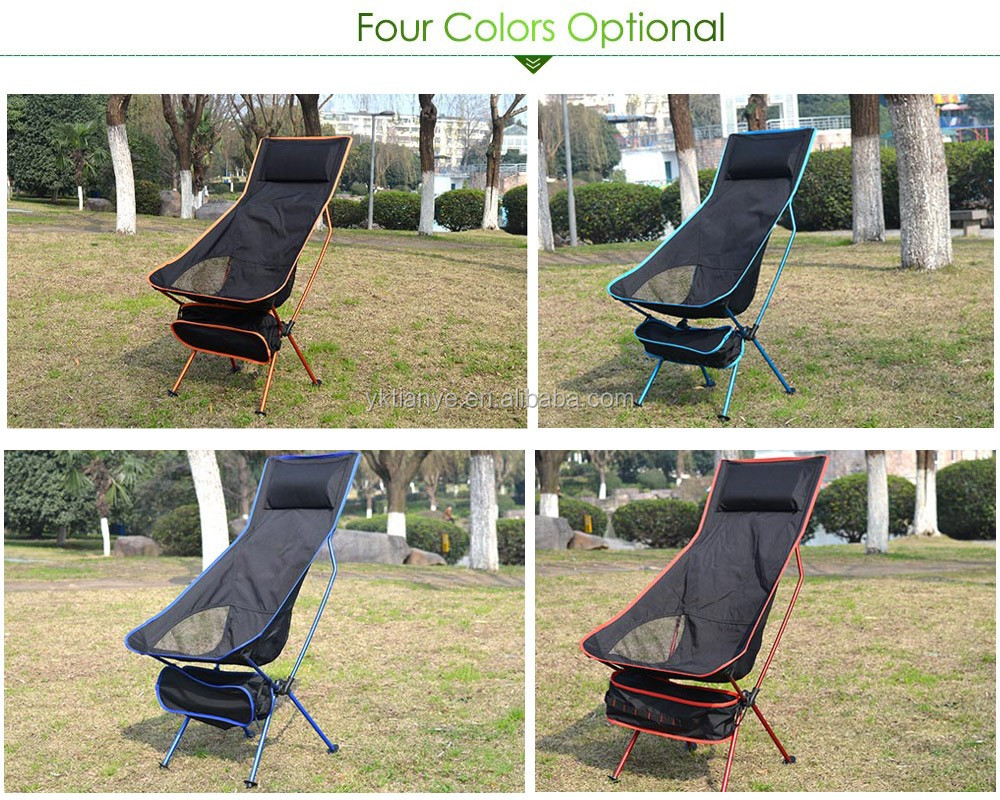 Yes Folded and fishing camping Matal cheap outdoorfishing chair with carrying bag