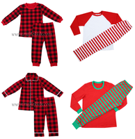 Wholesale Kids Christmas Boutique Pajamas Fashion