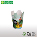 Colourful Printed Paper Noodle Boxed Round Food Boxes/food packaging boxes